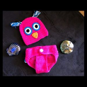 Other - Birdie crochet baby outfit